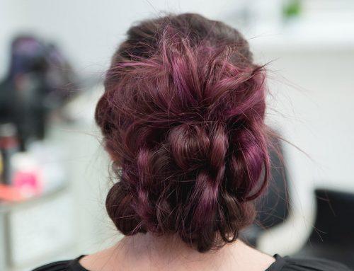 Bailey's Workshop Doing Purple Hair